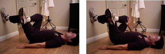 floor stretch