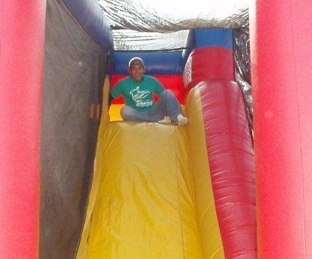 john on the slide