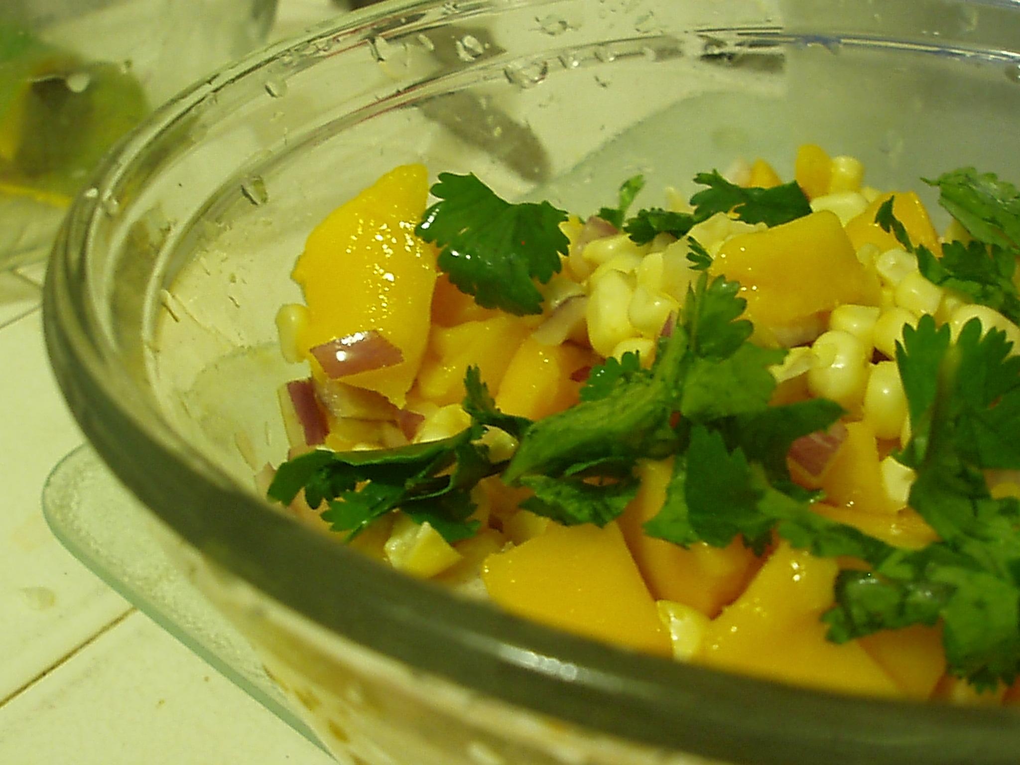 Sweetcornandmango