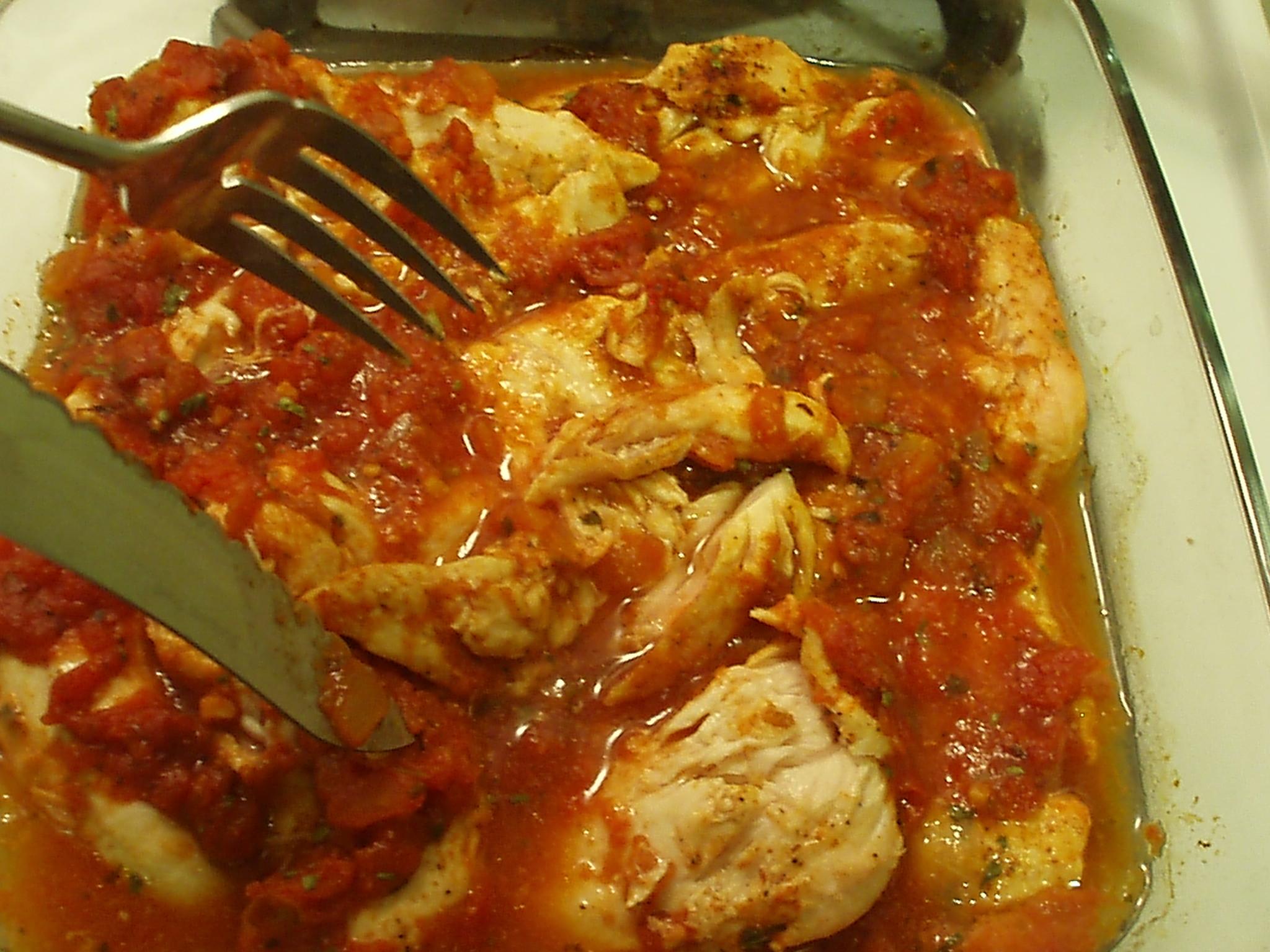 bakedchicken&salsa