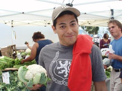 Farmer's Market Cauliflower