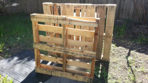 salvaged pallets