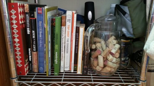 my cook book collection